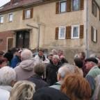 Heinz Wolpert erzählt die Geschichte des Pommerhauses