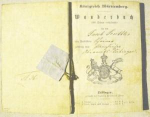 Wanderbuch für den Jakob Kuttler,