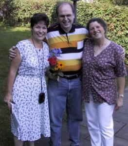 Von links: Jackie Dubois, Rüdiger Kemmler, Monika Schmid